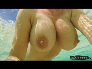 Ewa sonnet  billowing breasts ( milf milk wet pussy big tits busty suck blowjob brazzers kink porn anal мамка модель сосет )