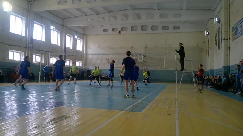 Обласні спортивні ігри серед студентської молоді ВНЗ I-II р.а. з волейболу 21-23 березня 2017 року