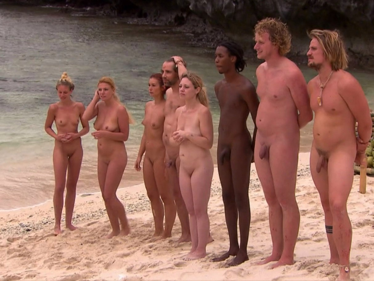 Nudist convention photo