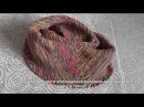 снуд Мебиус крючком резинкой 1х1 часть 2 slip stitch crochet cowl