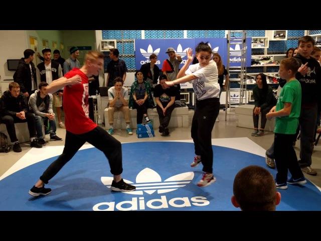 Hip Hop Dance ADIDAS Originals Battle UrantyDenya vs OkunechekTimosha