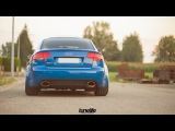 Loudest Audi B7 RS4 S4 A4 exhaust sounds
