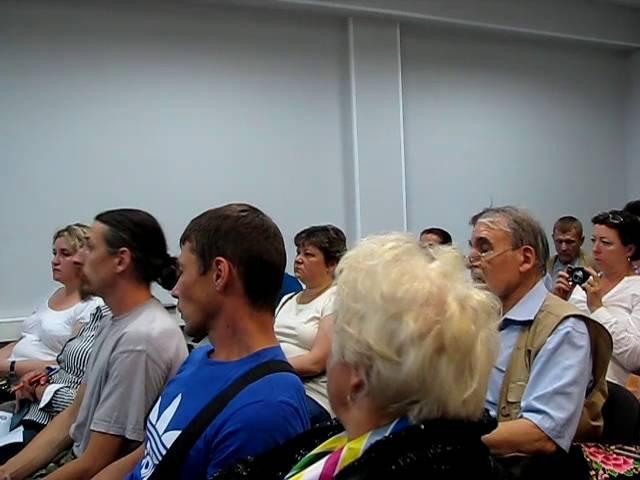 Как не платить кредиты и ЖКХ (Рыжов В.С.) - Москва 18.08.2016 - Часть 1