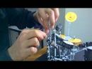 Rob Bourdon's (Linkin Park) drum set paper model