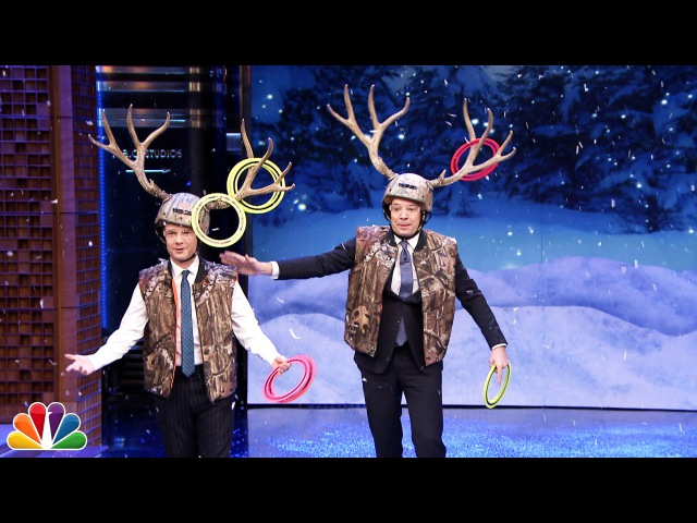 Antler Ring Toss with Martin Freeman