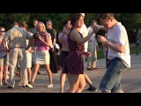 Танцы в Парке Горького (рокабилли джайв, rockabilly jive)