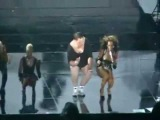 Beyonce brings fat chubby guy out on stage to perform LIVE