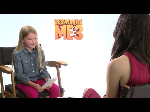 Miranda Cosgrove - Despicable Me 3 Interview 2017