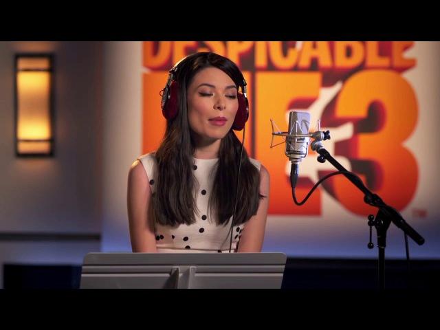 Exclusive Clip - Miranda Cosgrove recording Despicable Me 3
