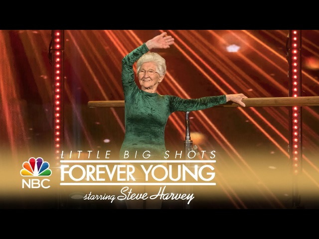 Little Big Shots: Forever Young - Inspiring 91-Year-Old Gymnast (Episode Highlight)