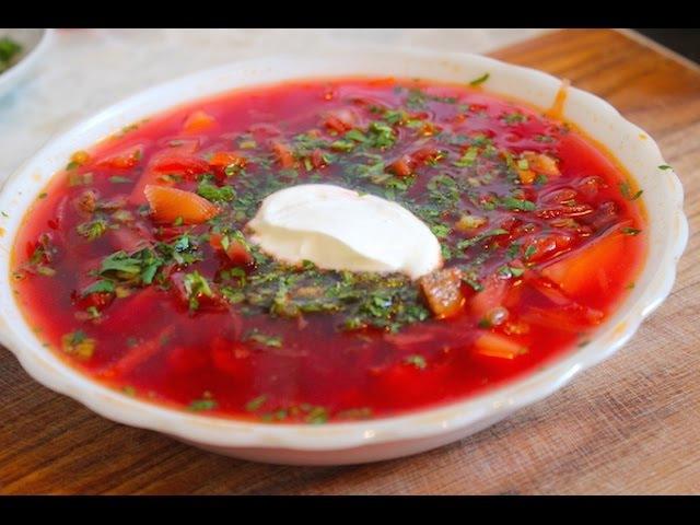 Босятская кухня Борщ Мужская еда