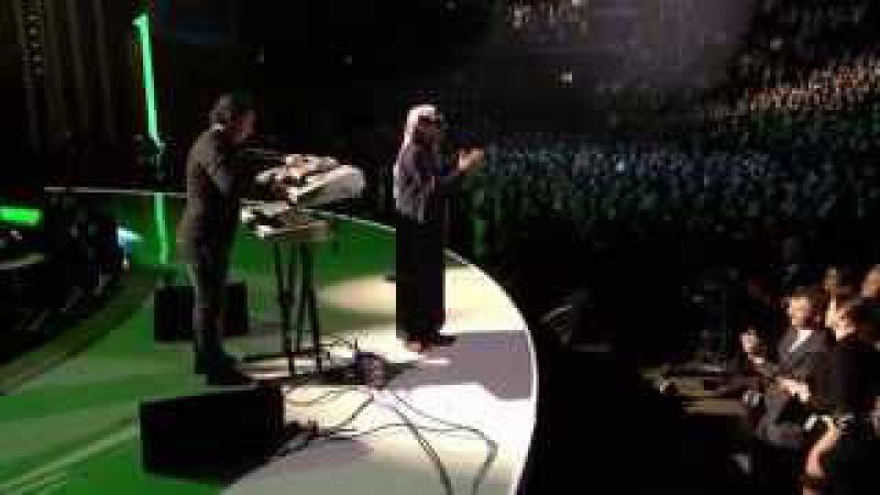 Omar Souleyman Salamat Galbi Bidek - 2013 Nobel Peace Prize Concert