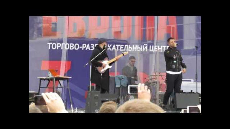 Концерт в честь дня рождения ТЦ Европа. Липецк. 28-05-2017