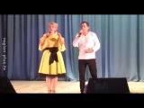 Оксана Пекун и Анатолий Гнатюк выступили в Мелитополе