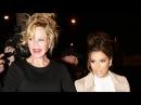 Melanie Griffith And Eva Longoria Hit Catch In WeHo