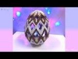 How to make 3d origami Easter egg