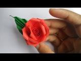 Paper Quilling Flower Rose   New Hand Works 2015  HandiWorks #10