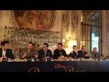 Beauty and the Beast press conference Emma Watson, Luke Evans, Josh Gad, Bill Condon &amp Alan Menken