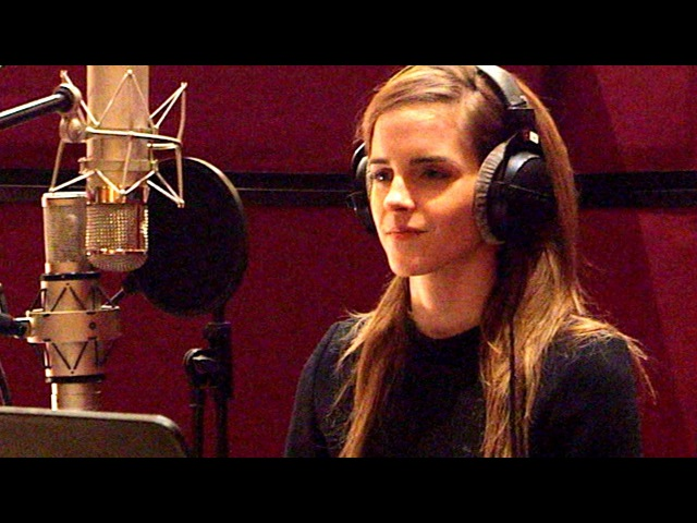 BEAUTY AND THE BEAST B-roll - Voice Cast Recording (2017) Emma Watson Disney Movie HD