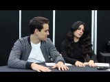 NYCC 2015 Shadowhunters Interview - Alberto Rosende and Emeraude Toubia The Workprint