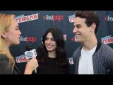 Alberto Rosende and Emeraude Toubia Shadowhunters Interview