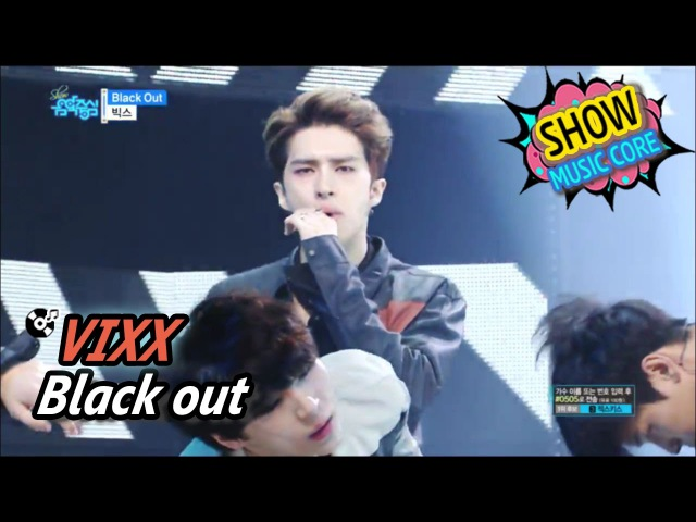 VIXX - Black Out (Show Music core 20170520)