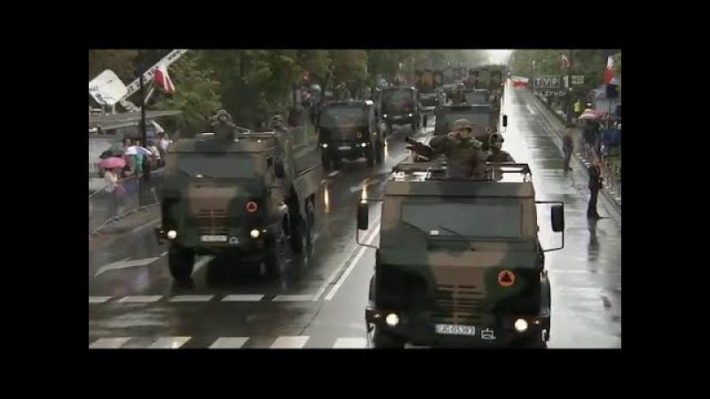 Defilada wojskowa podczas Obchodów Święta Wojska Polskiego 15.08.2016 TVP