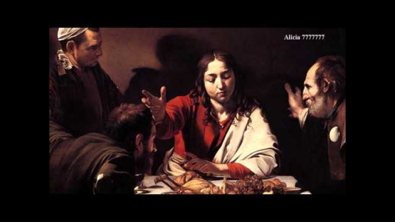 Supper at Emmaus by Caravaggio - 3D