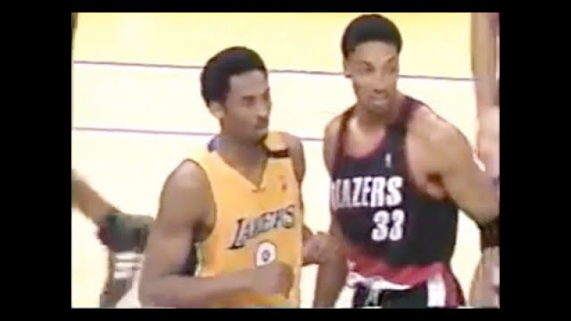 Scottie Pippen Defense on Kobe Bryant - 2000 NBA WCF