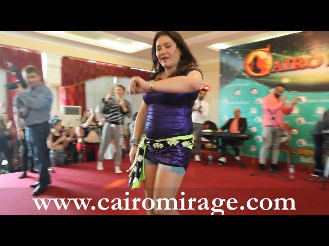 CAIRO MIRAGE-2017 KATIA EHSTA SUPERSTAR BELLYDANCER WORKSHOP WITH HER EGYPTIAN BAND