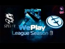 Team Spirit vs EG #3 WePlay Dota 2 S3 Lan Finals (29.04.2016) Dota 2