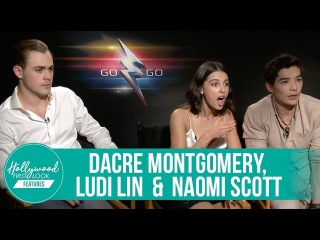 Behind-the-Scenes Secrets with Ludi Lin, Naomi Scott & Dacre Montgomery: POWER RANGERS (2017)