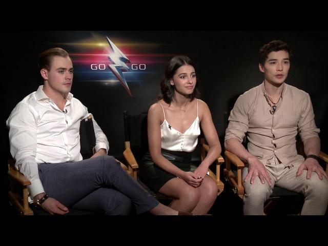 Power Rangers Movie Interview: Dacre Montgomery, Naomi Scott, and Ludi Lin