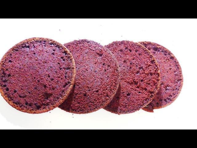ШОКОЛАДНЫЙ БИСКВИТ на КИПЯТКЕ Chocolate biscuit on boiling water