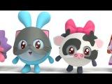 Малышарики - Мяу Гав! (65 серия) Обучающие мультики. Как говорят животные