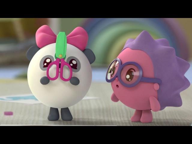Малышарики - Чей хвостик? (64 серия) Обучающие мультики для самых маленьких