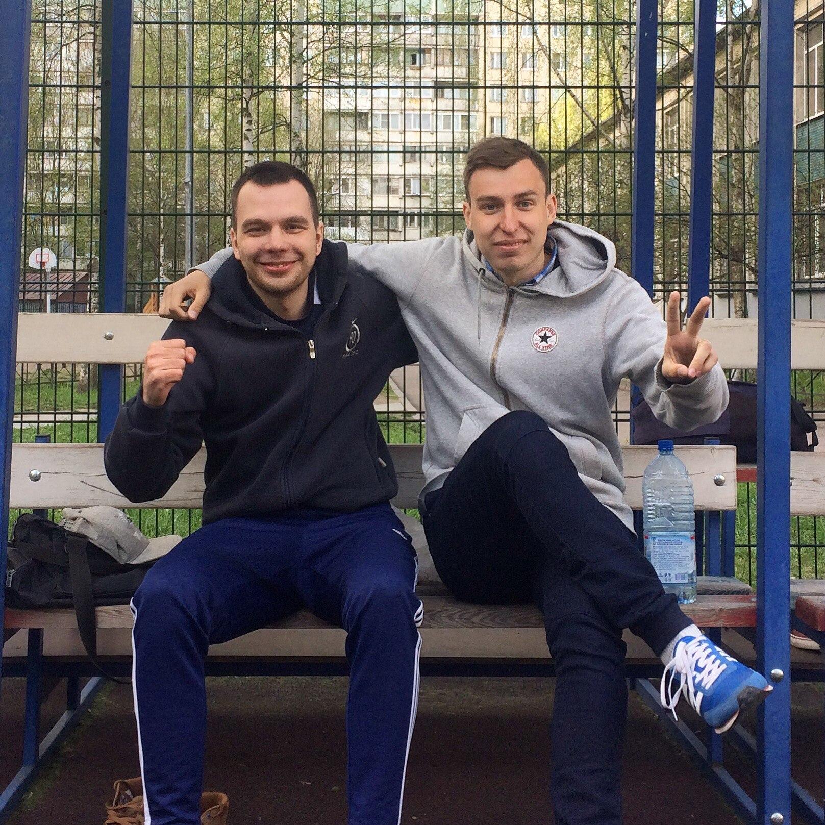 Константин Бондаренко и Дмитрий Лявданский