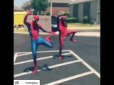 Spider Man v Deadpool leaked scene