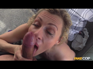 Brittany bardot - copper fucks bus driver in the arse 2016 (anal, deep throat, all sex, порно, секс)