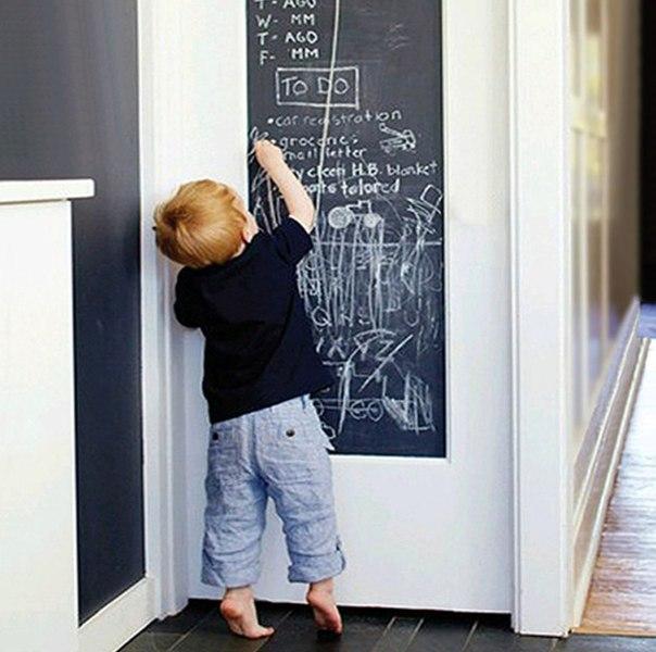 Что делать еси ваши дети рисуют на стенах?) Наклейка -