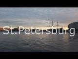 Красота любимого города. Без фильтров. Санкт-Петербург. Закат.