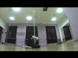 Exotic pole dance. Фитнес-студия