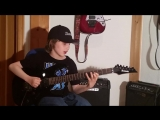 Dustin Tomsen 11 years old covers Yngwie Malmsteen Far beyond the sun full son_HD