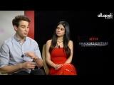 2016 › Интервью для «Al apeli.com» в рамках джанкета компании «Netflix»