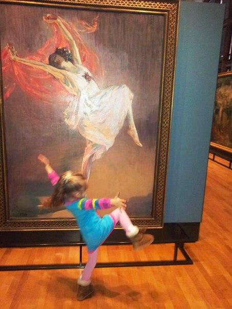 Искусство вдохновляет