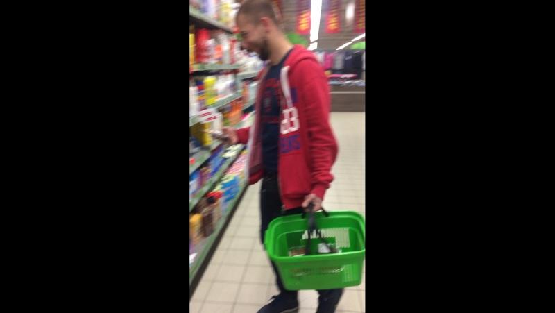 Якось в супермаркеті