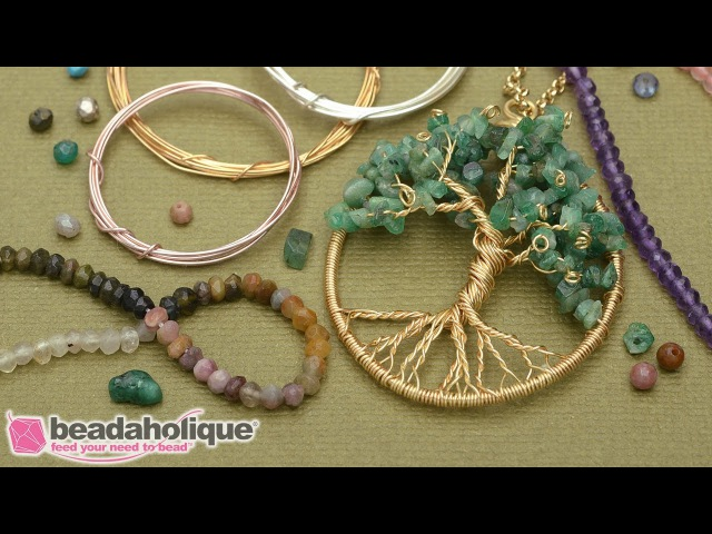 How to Make a Wire Wrapped Tree of Life Pendant