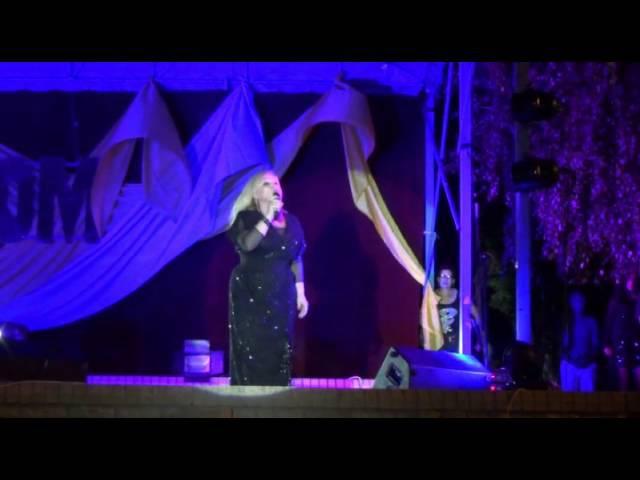 Концерт Ауріки Ротару в м.Ізюм