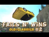 Racing Games FAILS &amp WINS OldClassic Games Edition #2