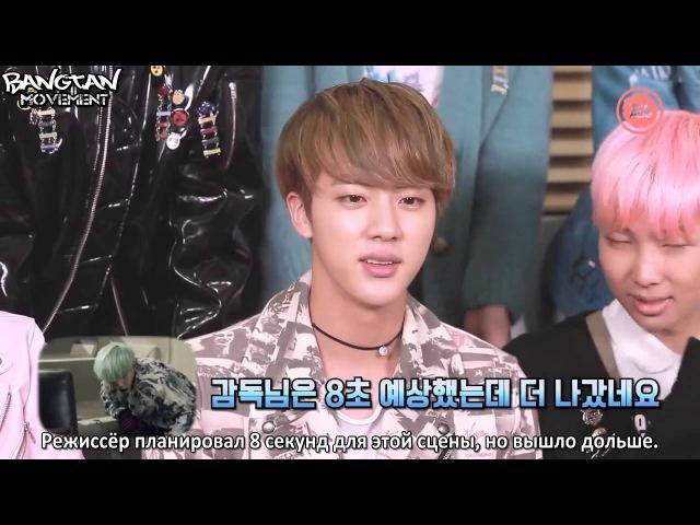 [RUS SUB]16.12.15 BTS Reaction to RUN MV